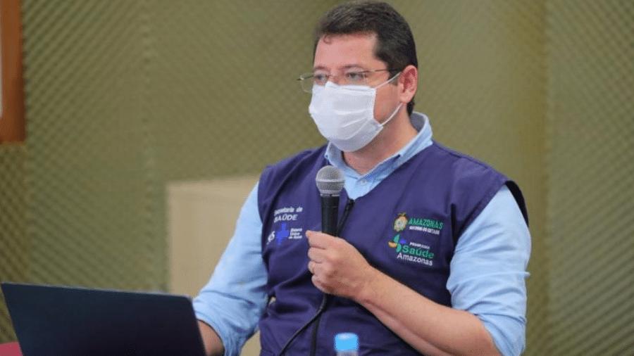 O ex-secretário de Saúde do Amazonas, Marcellus Campêlo, que pediu exoneração do cargo - Governo do Amazonas