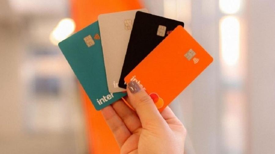 Cartões do Banco Inter - Reprodução/Instagram/@bancointer