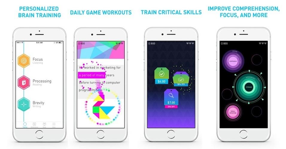 elevate, aplicativo para treinar o cérebro