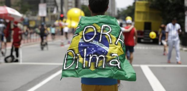 Avenida Paulista teve manifestação pró-impeachment da presidente Dilma Rousseff em dezembro
