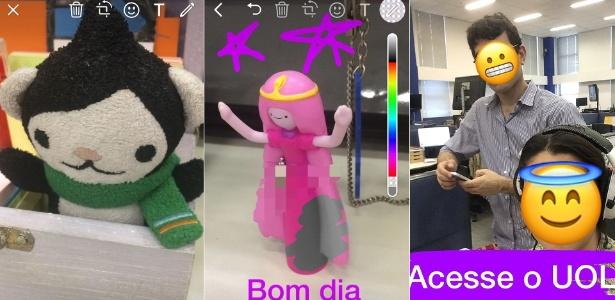 WhatsApp coloca ferramenta de emojis, caneta e texto para vídeos - Reprodução