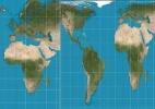 """Escolas de Boston adotam mapa contra """"visão colonialista"""" do mundo - Reprodução/BBC"""