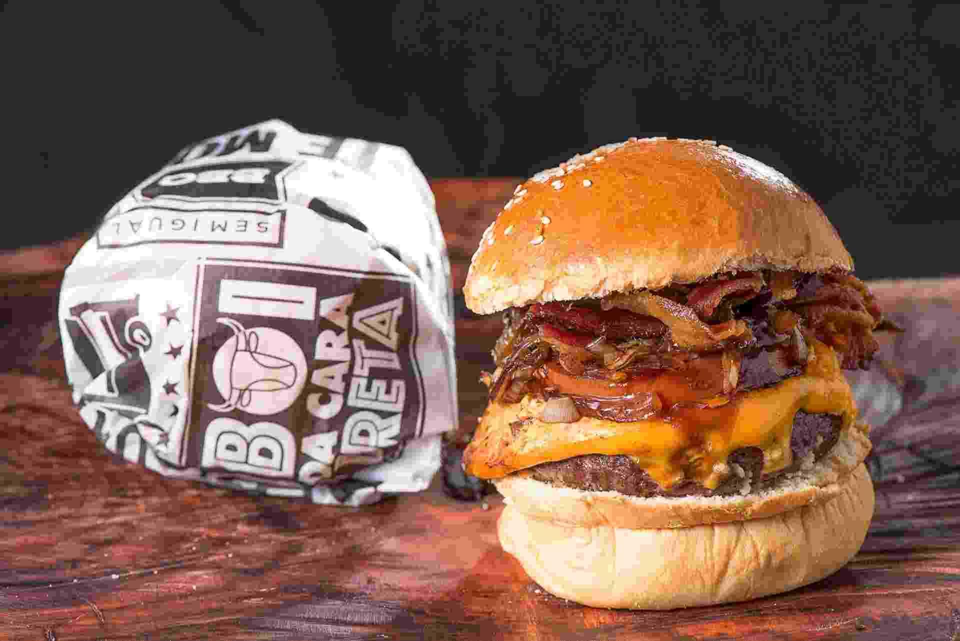 Boi da Cara Preta Bull Burger - Divulgação