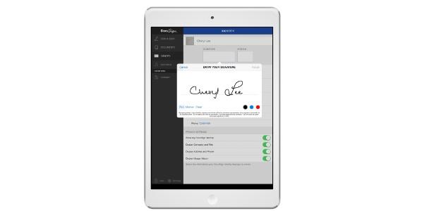 DocuSign é o aplicativo mais usado no gênero de assinatura digital usando telas touch - Divulgação