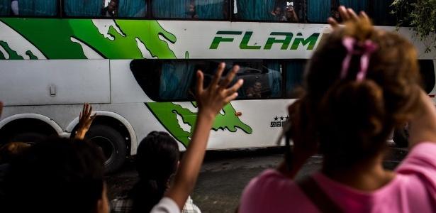 Saída de pessoas da Venezuela já é considerada uma crise migratória - Manu Quintero/BBC
