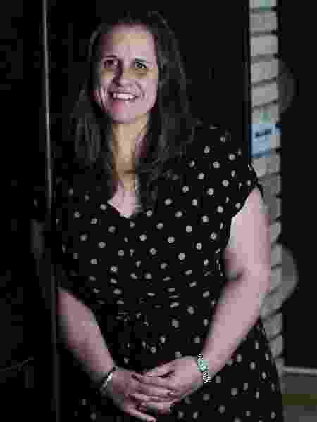 Claire Wardle, diretora-executiva da ONG First Draft, idealizadora do Projeto Comprova - Heitor Feitosa/Veja