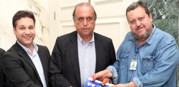 Leonardo Jacob (à esquerda) foi preso em operação no Rio de Janeiro