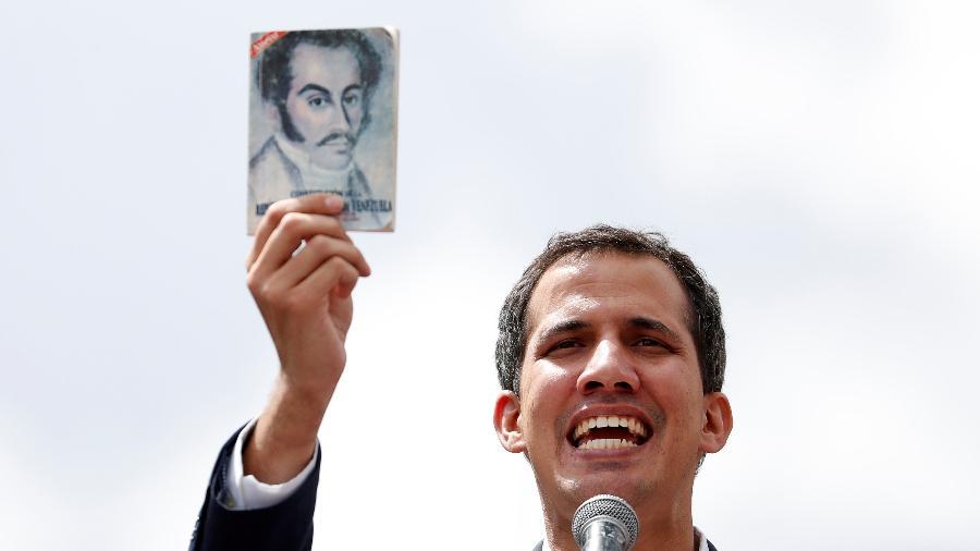 O presidente da Assembleia Nacional da Venezuela, Juan Guaidó, é o líder da oposição do país - CARLOS GARCIA RAWLINS/REUTERS