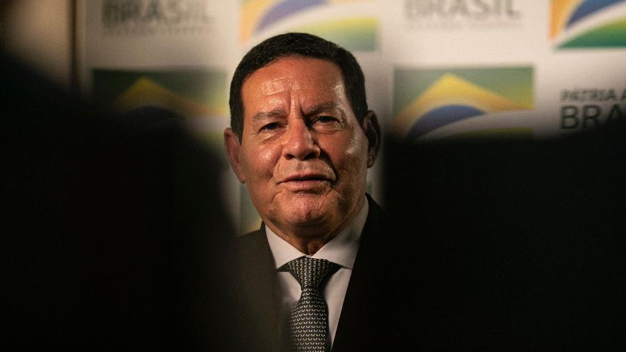 Vice-presidente da República, general da reserva Hamilton Mourão - Sérgio Lima/AFP