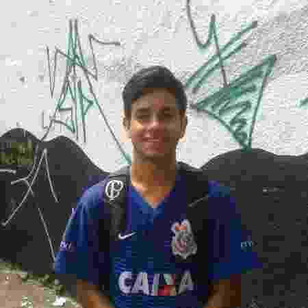 Lucas Garcia, 16, estudante do segundo ano da escola Raul Brasil, em Suzano (SP) - Nathan Lopes/UOL - Nathan Lopes/UOL