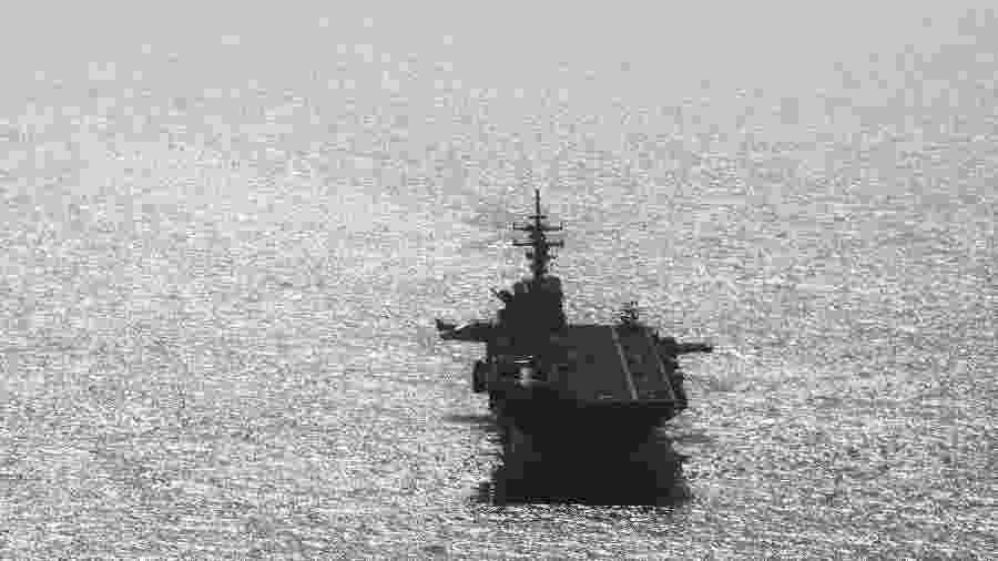 Navio americano USS Boxer  - Ahmed Jadallah/Reuters