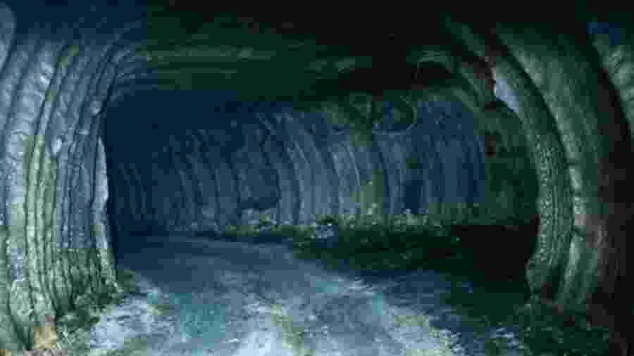 Um grande volume de petróleo é armazenado em cavernas subterrâneas na Louisiana e no Texas - Getty Images/BBC