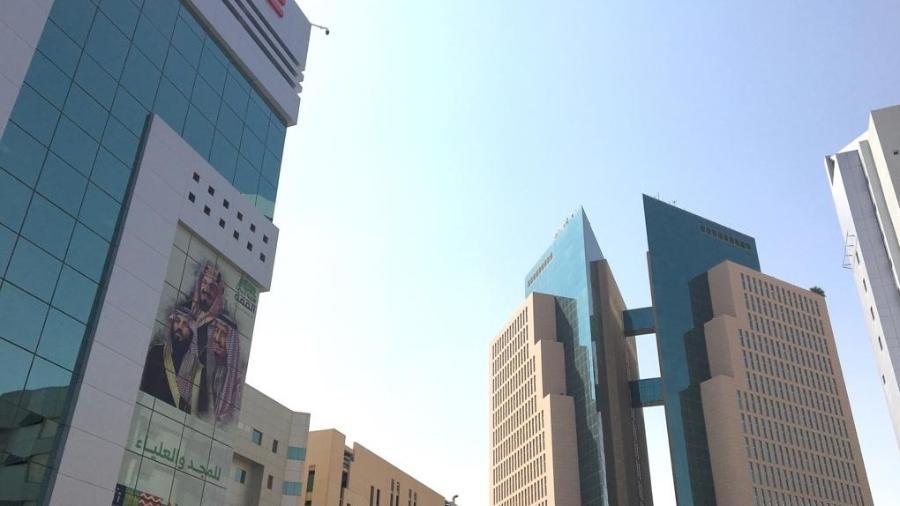 Arranha-céus no centro de Riad, capital da Arábia Saudita. - Diogo Schelp/UOL
