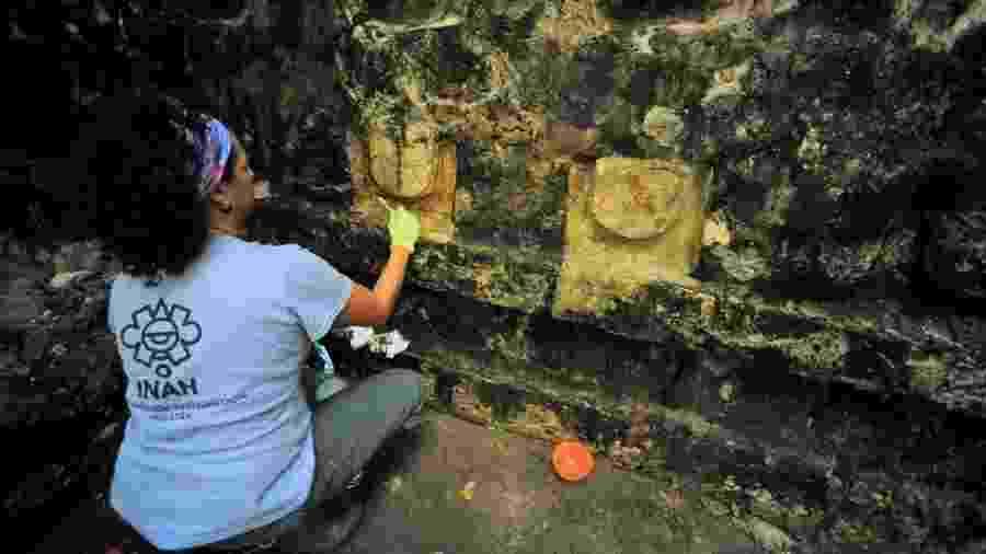Há receios de que o sítio arqueológico esteja demasiadamente exposto ao sol e ao vento - Reuters