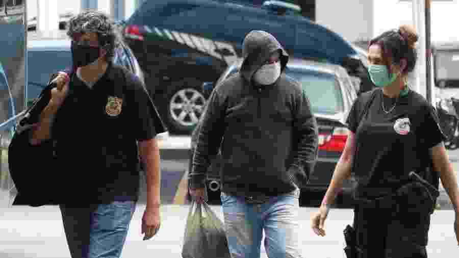 Eles foram presos em maio passado, na Operação Favorito, que investiga esquema de pagamento de propinas em contratos da Secretaria de Estado da Saúde  - Dirkan Junior/Futura Press/Estadão Conteúdo