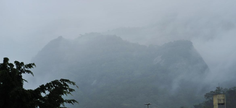 Fortes chuvas deixaram a cidade do Rio em Estágio de Atenção; sirenes foram acionadas na Rocinha - Saulo Angelo/Futura Press/Estadão Conteúdo