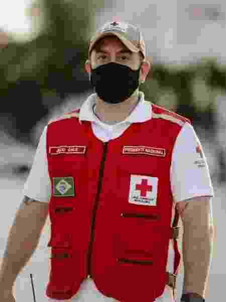 Júlio Cals, presidente da Cruz Vermelha Brasileira - André Benicio/ASCOM CVB - André Benicio/ASCOM CVB