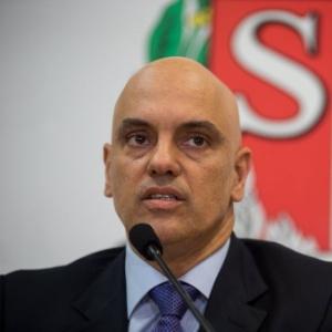 Alexandre de Moares, secretário de Segurança Pública de São Paulo