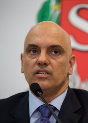 Alexandre de Moraes, secretário de Segurança Pública de São Paulo