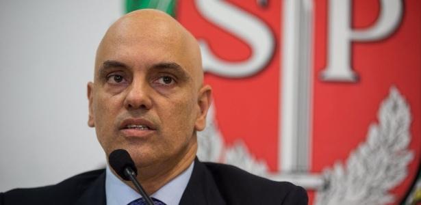 O novo ministro da Justiça e Cidadania, Alexandre de Moraes