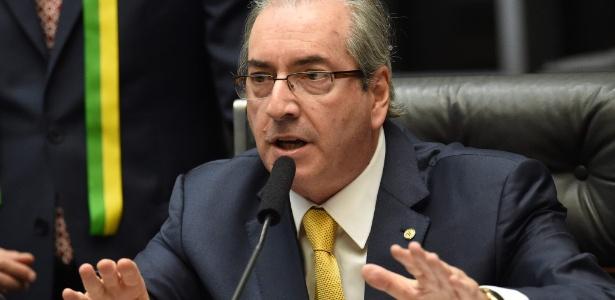 Eduardo Cunha (PMDB-RJ) evitou comentar ofensiva do governo que teria mudado votos contra impeachment