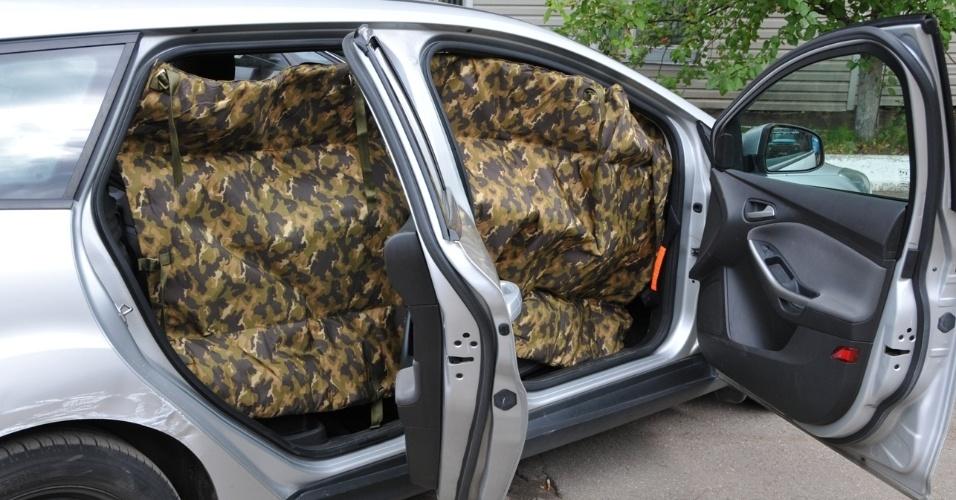 Manta russa promete blindar civis de estilhaços
