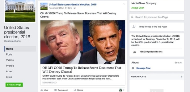 Reprodução/NYT/Facebook