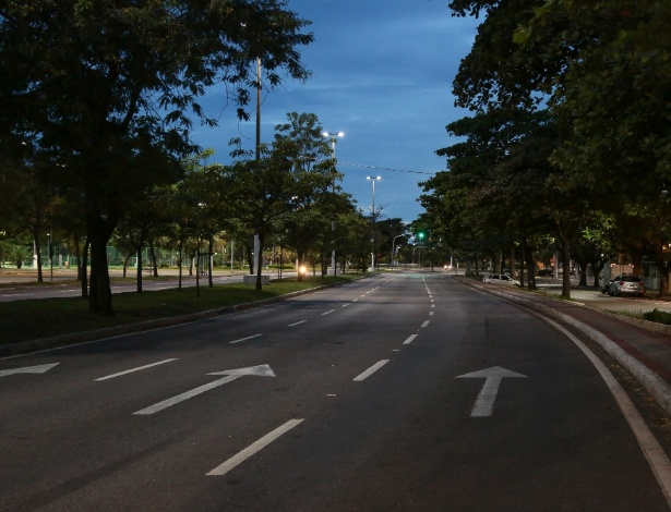 Onda de insegurança e violência deixa ruas de Vitória vazias