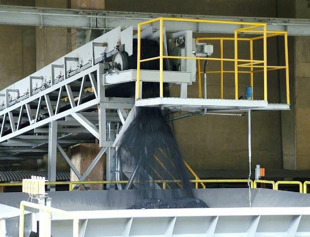 Lixo tóxico moído na Faex Soluções Ambientais, de São Roque (SP), depois de ter passado por tratamento