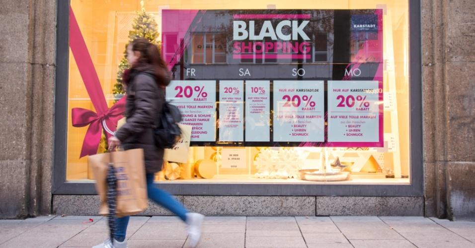 24.11.2017 - As promoções da Black Friday também ocorrem na Alemanha nesta sexta-feira