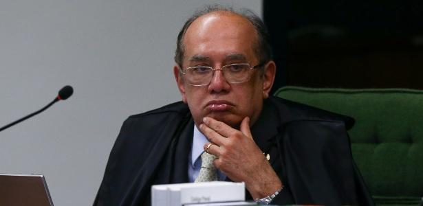 O ministro Gilmar Mendes participa de sessão da 2ª Turma do STF