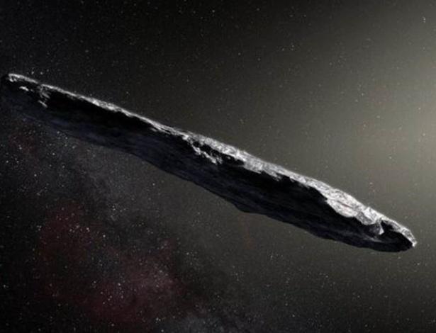O asteroide Oumuamua é um dos objetos mais longos que já foram observados pelos cientistas