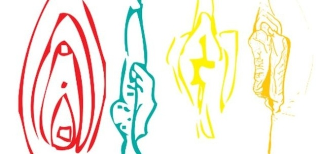 Desenhos mostram os diferentes tipos de vulva