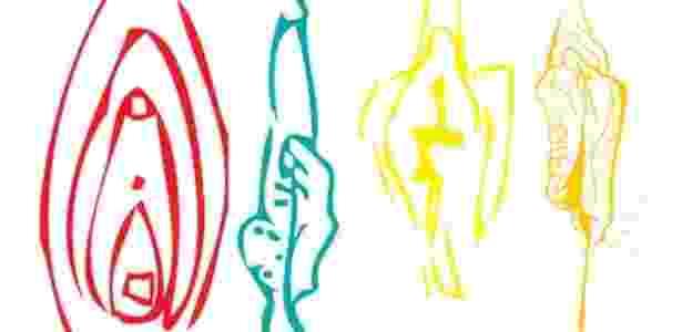 Desenhos mostram os diferentes tipos de vulva -  BritSPAG