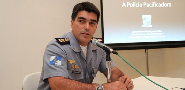 O coronel Robson Rodrigues, ex-chefe do Estado Maior da Polícia Militar do Rio, em 2011 - Divulgação/Consulado dos EUA-RJ