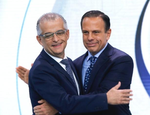 Márcio França e João Doria disputam o segundo turno em São Paulo