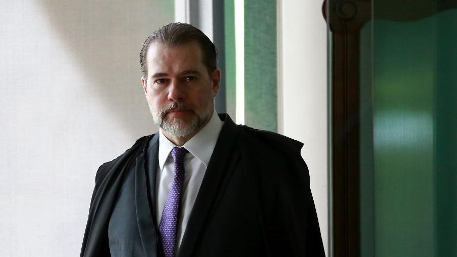 14.fev.2019 -  O ministro Dias Toffoli, presidente do STF - FáTIMA MEIRA/FUTURA PRESS/FUTURA PRESS/ESTADÃO CONTEÚDO