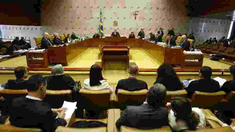 13.fev.2019 - Início do julgamento sobre a criminalização da homofobia no Supremo Tribunal Federal (STF) - DIDA SAMPAIO/ESTADÃO CONTEÚDO