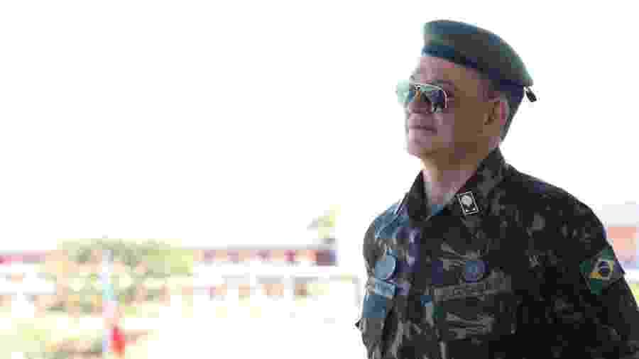 O general Carlos Roberto Pinto de Souza, novo responsável pela diretoria do Enem - Reprodução/ Comando de Comunicações e Guerra Eletrônica do Exército