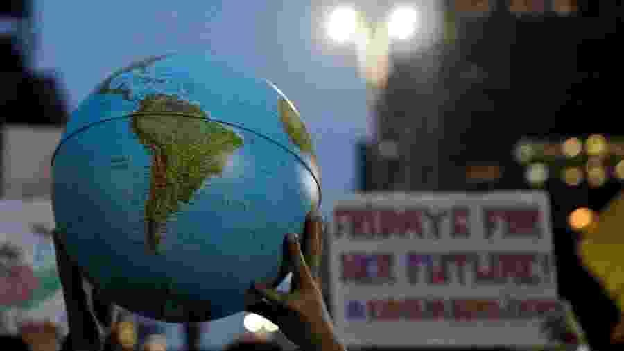 Fridays for Future: jovens se mobilizam contra aquecimento global no mundo - Nacho Doce/Reuters
