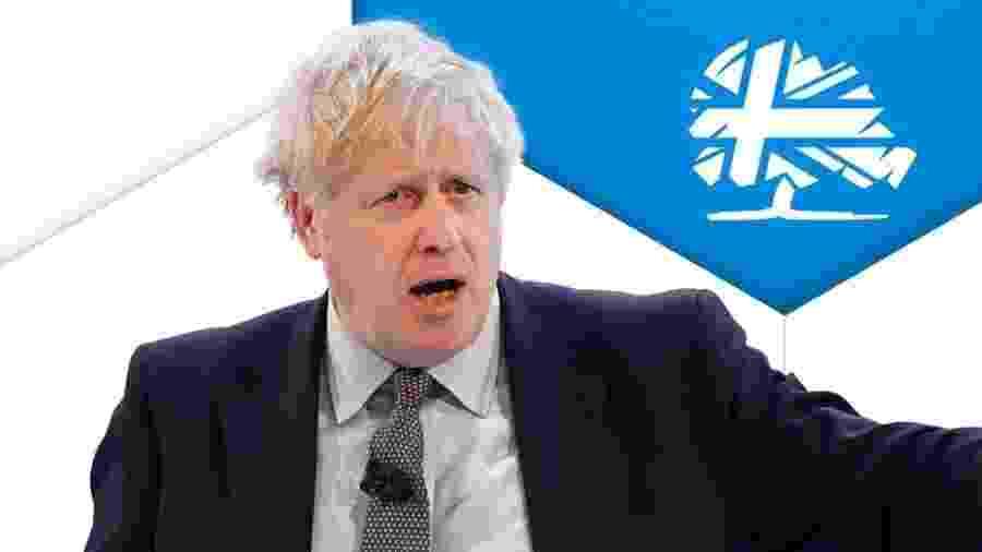Primeiro-ministro, Boris Johnson, liderou os conservadores na mais ampla vitória em mais de 30 anos - BBC