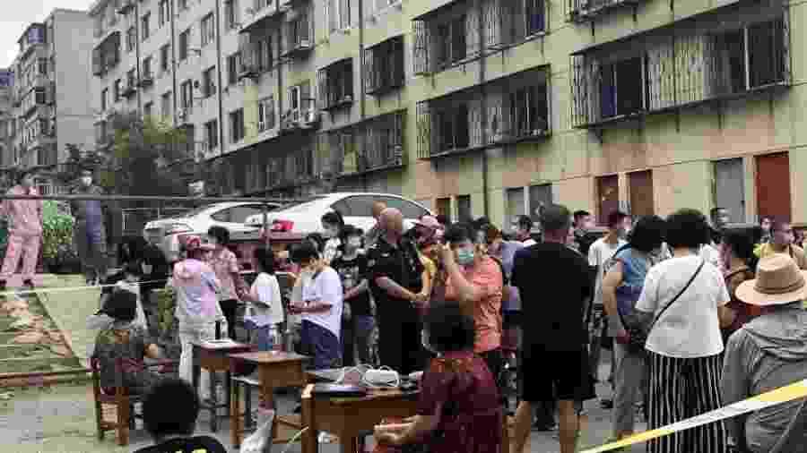 Cidade de Dalian, na China, em meio à pandemia do novo coronavírus - Yang Yi/China News Service via Getty Images
