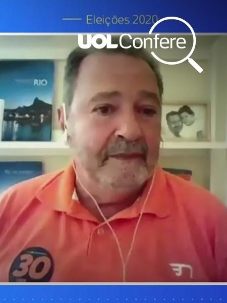 Fred Luz, candidato do Novo à Prefeitura do Rio de Janeiro - Uol Confere