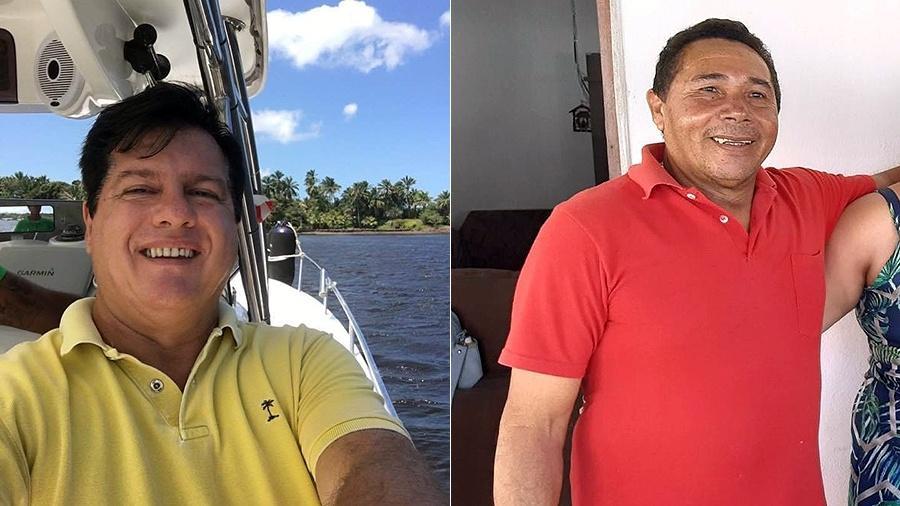 Os corpos de Ricardo José Kirst (à esq.) e de Wilson Martins dos Santos foram identificados - Arquivo pessoal