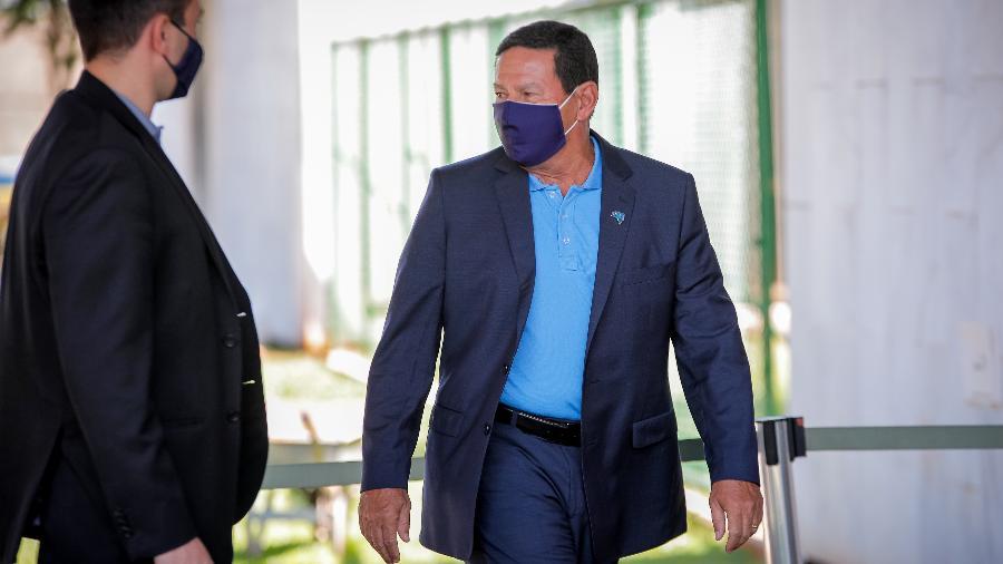 Mourão disse que o presidente Jair Bolsonaro tem a prerrogativa de fazer mudanças no governo - Bruno Batista /Vice-Presidência da República