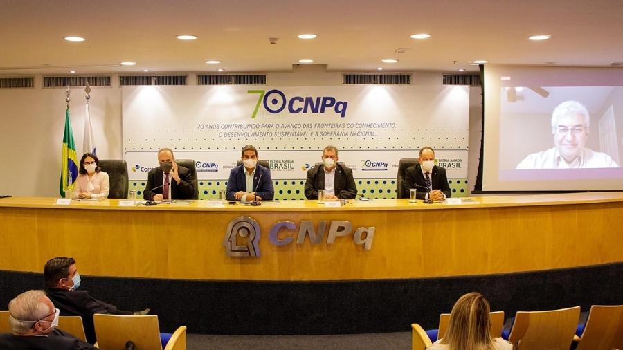 Evento de comemoração dos 70 anos do CNPq, realizado em 16 de abril - Leonardo Marques/ASCOM/MCTI