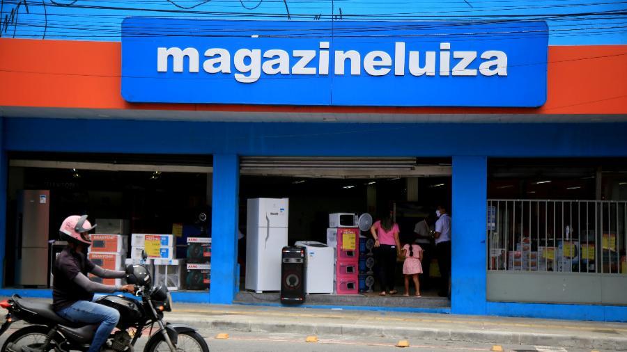 Loja do Magazine Luiza em Salvador, na Bahia - Joa_Souza/Getty Images