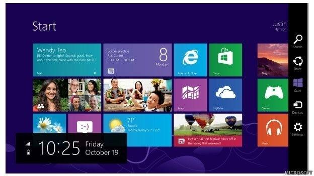 O Windows 8 é um sistema operacional renovado. Com tela inicial com mosaicos, traz uma interface totalmente nova, com funcionalidade tátil