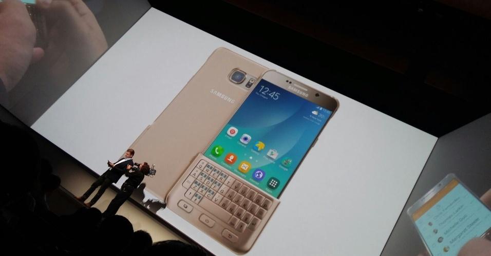 O novo Note 5 terá teclado removível, para aqueles que não se acostumaram só com a tela sensível ao toque e a caneta que vem com o celular