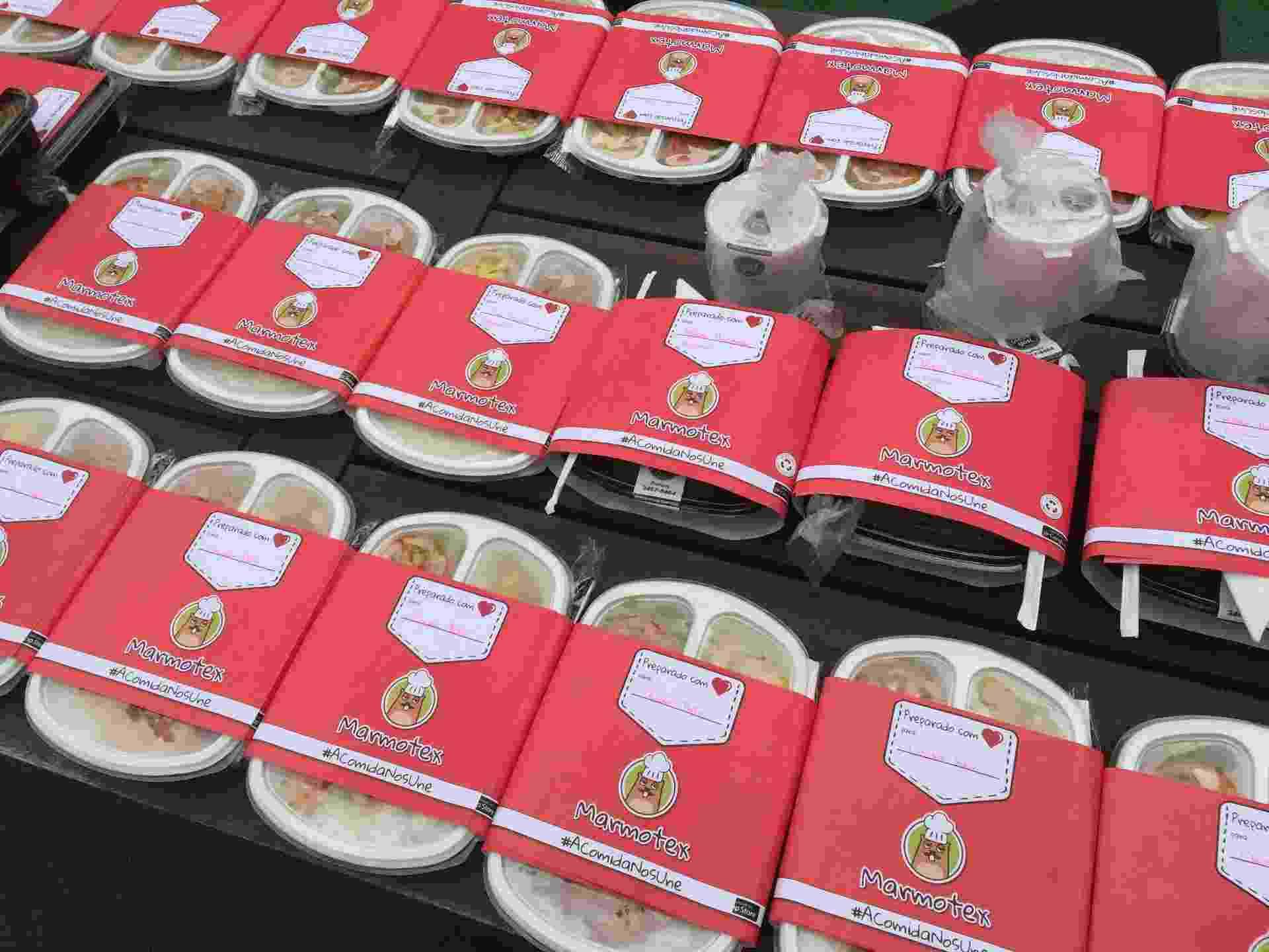 A Marmotex vende marmitas para escritórios, mas só realiza entrega para grupos cadastrados no site; de acordo com os sócios, há 116 opções entre comida típica brasileira, oriental, árabe, mexicana, vegetariana e light; os preços variam de R$ 15 a R$ 35; clique nas imagens acima e veja mais - Divulgação
